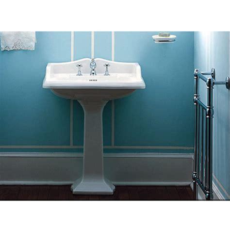 pedestal sink backsplash collection large traditional rectangular pedestal