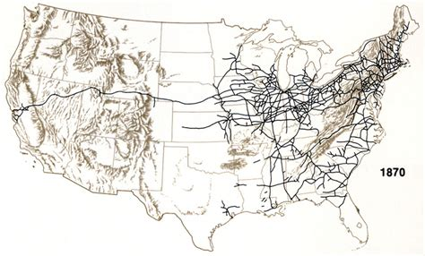 united states rail map united states map maps of usa states map of us