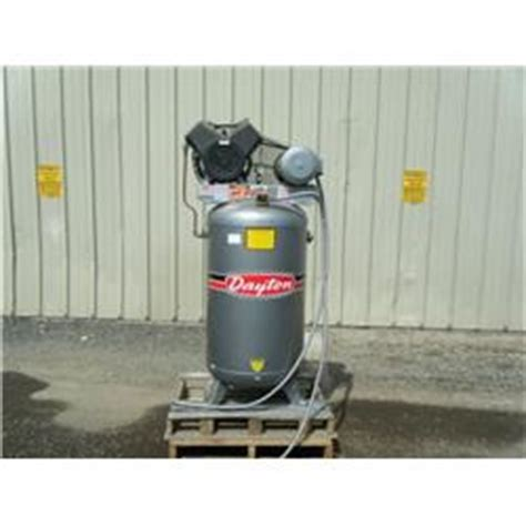 dayton 5z592 vertical electric air compressor
