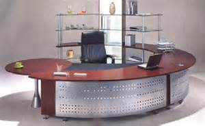 Homedesign Com Modern Round U Shaped Desk With Metal Office
