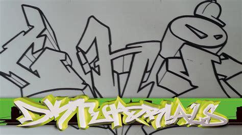 draw graffiti wildstyle graffiti letters ghi step