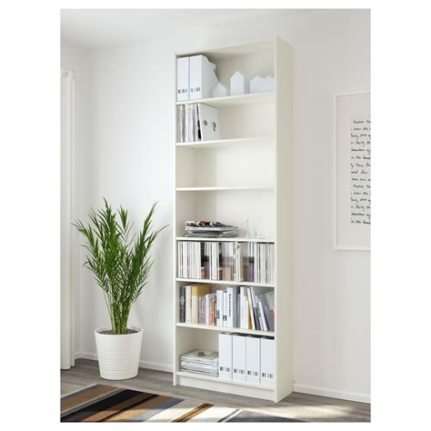 billy bookcase white 80x237x28 cm ikea