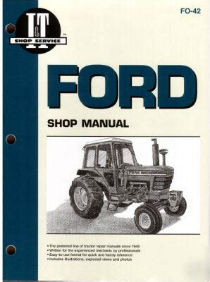 Ford 5000 Thru 7710 Tractor Workshop Manual