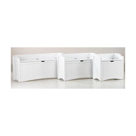 Home Decorators Bench by Home Decorators Collection White Lift Top Storage Bench 7825900410 The Home Depot