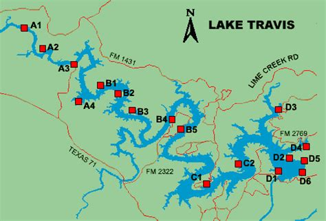 map of lake travis texas lake travis access
