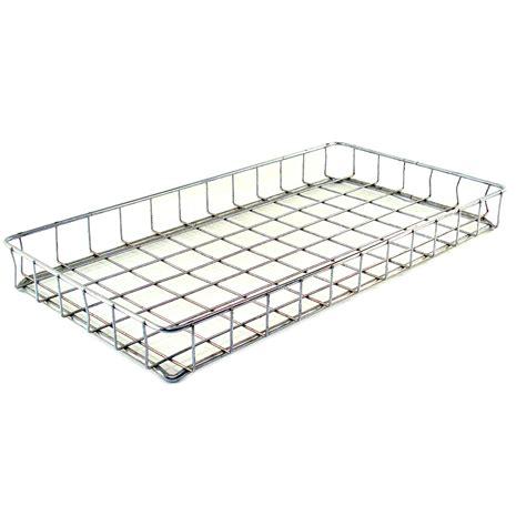 Wire Shelf Basket by Metal Steel Storage Basket Display Shelf Bin Cooling Wire