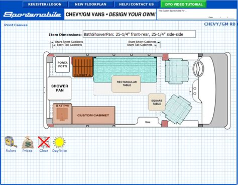 conversion van floor plans floor plan for a chevy express conversion van thoughts