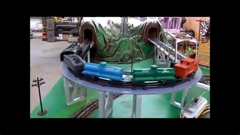 youtube classic layout large portable marx train layout featured in classic toy