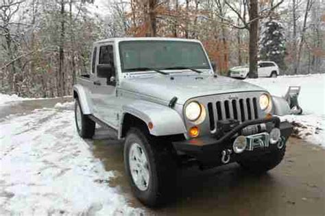 Used Jeeps For Sale In Missouri Buy Used 2007 Jeep Jk8 Truck By Owner In Springfield