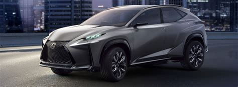 lexus lf nx lf nx advanced crossover concept