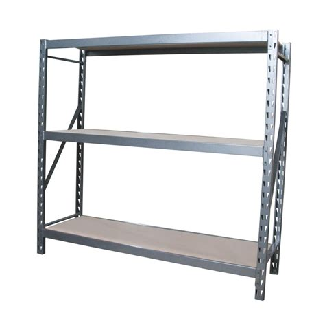 shelves at home depot international 3 shelf industrial grade riveted storage rack with particle board shelves the