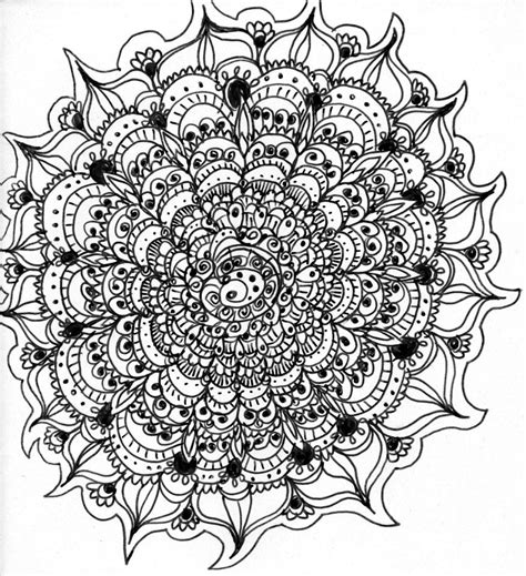 mandala coloring pages complicated pin difficult mandala coloring pages on