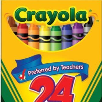 Dress It Up Button Sun Springkles crayola crayons 24 count box 6 pack from things i