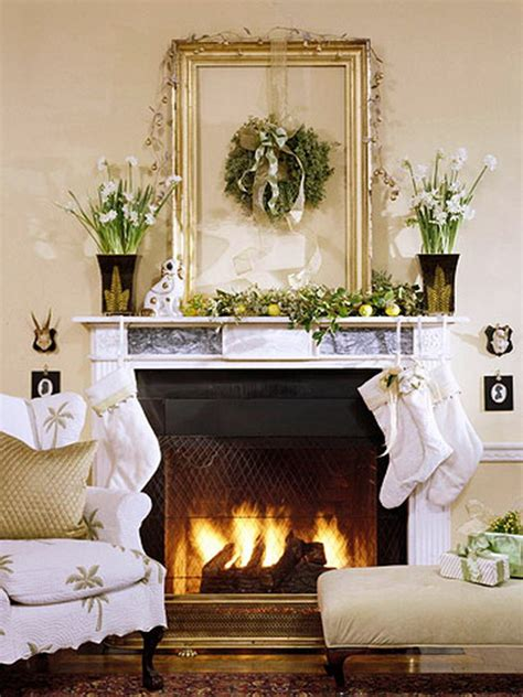Mantle Decoration by Decorate A Mantel With A Centerpiece Family