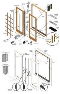 andersen sliding glass door replacement parts 400 series frenchwood patio door parts diagram