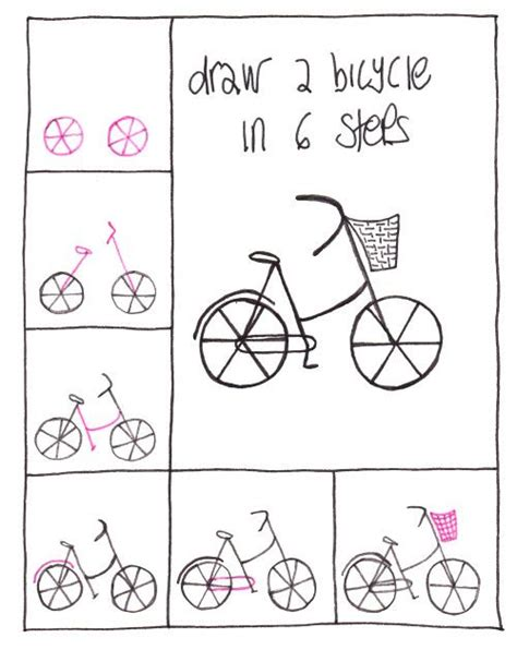 how to draw a doodle person best 25 bicycle ideas on