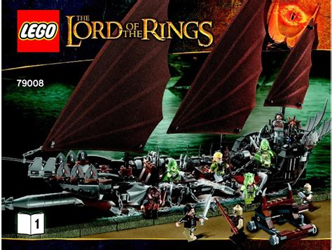 tutorial lego lord of the rings lord of the rings lego pirate ship ambush instructions