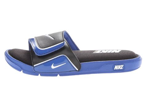 nike comfort slide 2 white and blue nike comfort slide 2 in blue for men game royal black