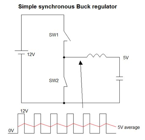 low pass filter using capacitor and inductor power supply what would be the input current of buck regulator electrical engineering stack
