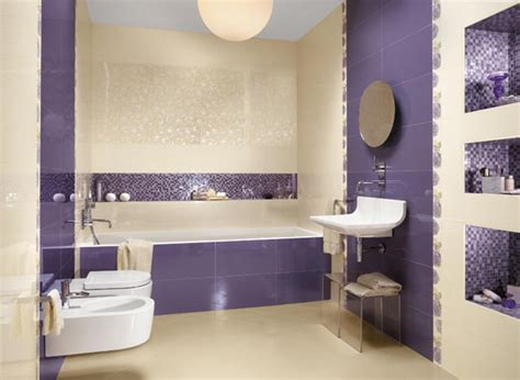 magic purple bathroom