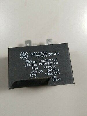 dishwasher capacitor  p  vac hz  afc  ebay
