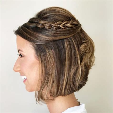 short bohemian hairstyles 24 chic updos for short hair these are hot for 2018