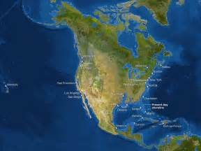 us map after global warming map of continents if all the melted sea level 67 m