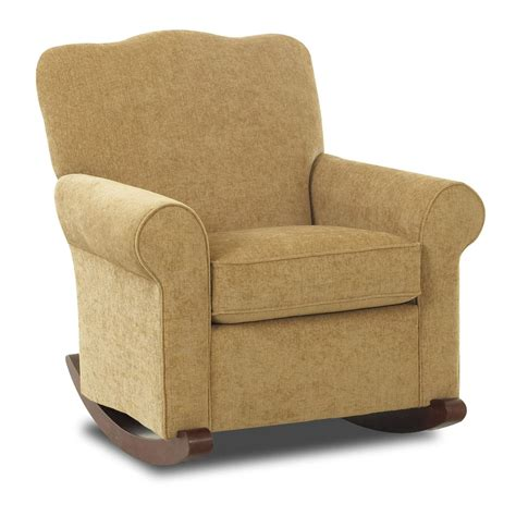 Upholstered Recliner Chairs by Klaussner Chairs And Accents Town Upholstered Rocker Sheely S Furniture Appliance