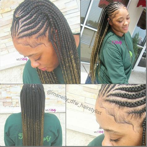 small braid by large braid tribal braids feeder braids small feeders box braids