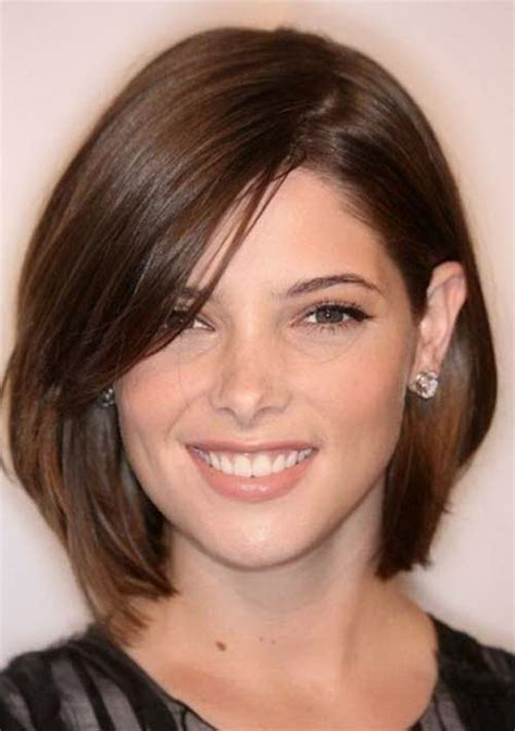 hairstyles round face middle age short haircuts for round faces 2016