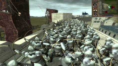 the siege 2 third age total war battle the siege of minas tirith