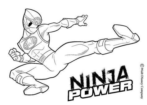 Ninja Power Rangers Coloring Pages | power rangers ninja storm coloring pages images