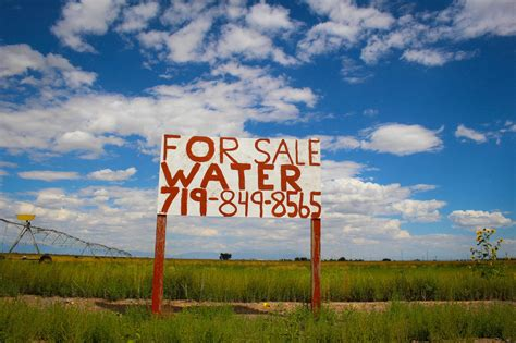 Publicists Publicizing Themselves by To Save Their Water Supply Colorado Farmers Taxed