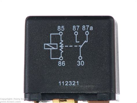 bosch automotive relay diode relays