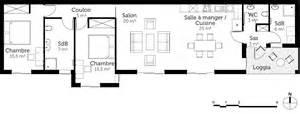 plan rectangulaire de plain pied 100 m 178 ooreka