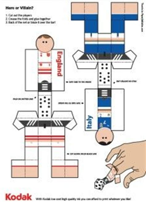 How To Make A Paper Football Player - 17 best images about football on pool noodle