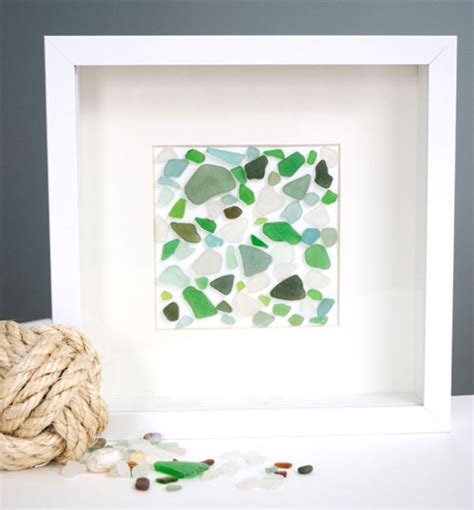 sea glass projects sand and sisal