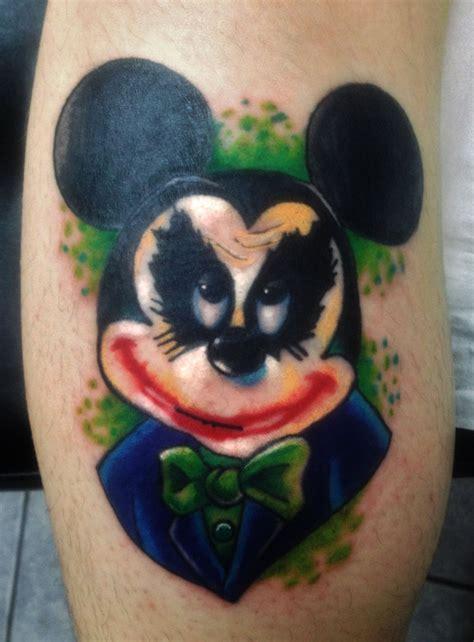 tattoo old school joker 80 mickey mouse tattoos to preserve the walt disney magic