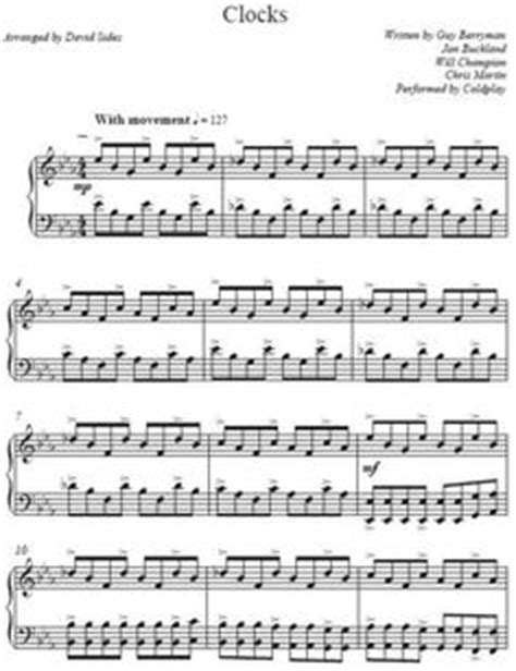 coldplay biography pdf 1000 images about sheet music for life yo on pinterest