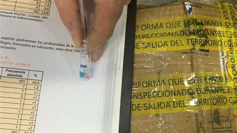testo cocaina malpensa libri alla coca nel pacco postale le pagine