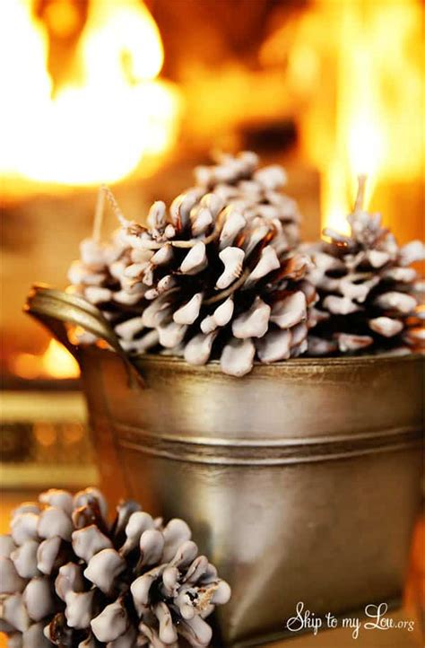 easy pinecone fire starters skip   lou