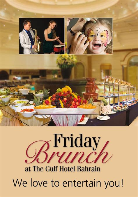 al waha friday brunch gulf hotel bahrain