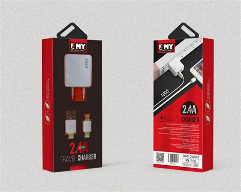 Lightning Data Cable Charger Emy My 444 emy travel home charger for apple ios and samsung android my 226