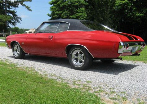 1972 chevrolet chevelle with american racing 15 quot torq thrust ii wheels