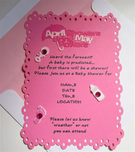 April Showers Bring May Flowers Baby Shower by 44 Best Images About Invitations On Purple