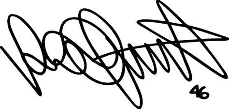 Autoaufkleber Vr46 by 46 Valentino Signature Decal Sticker 01