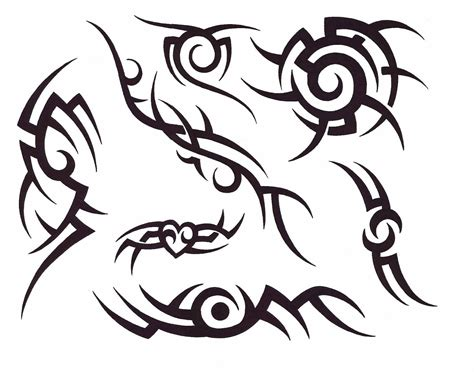line tribal tattoos tribal lines designs best design