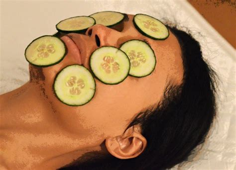 cucumber mask diy cucumber mask