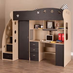 Bunk Bed With Desk Underneath by Why We To Apply Loft Bed For Small Bedroom Atzine