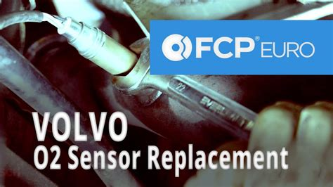 volvo oxygen sensor replacement  turbo front rear youtube